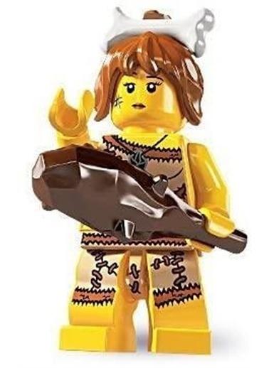 Lego Lego Minifigür - Seri 5 - 8805 - Cavewoman Renkli